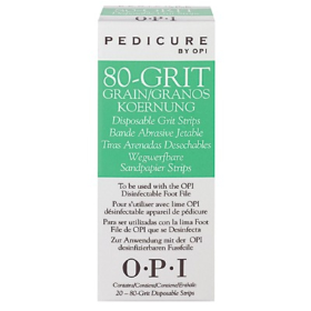 OPI ProFile 80Grit Strips Pkt20