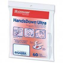 Handsdown Nail Pads Pkt 60