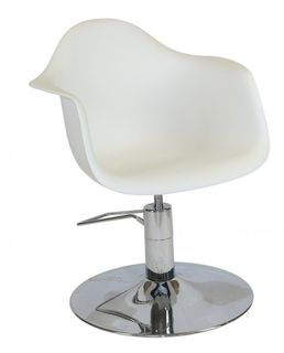 Erica Styling Chair WHITE