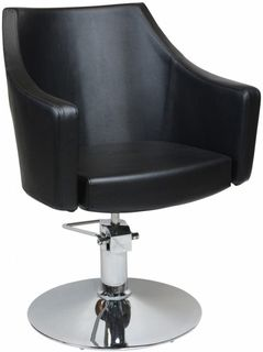 Layla Styling Chair Black