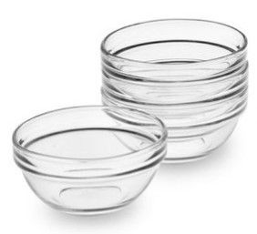 Glass Mixing Dish 60mm