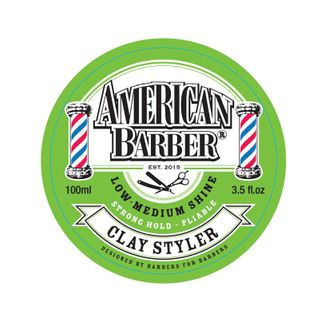 American Barber Clay 100gm