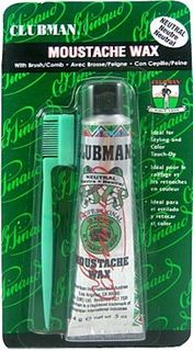 Clubman Moustache Wax Neutral