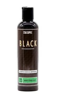 Stag Supply Charcoal Beard Wash MintChoc