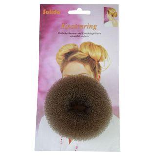 Hair Donut Medium Brown 8cm HD02