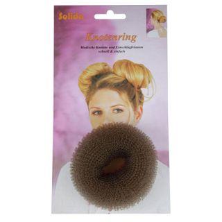 Hair Donut Small Brown 6cm HD01
