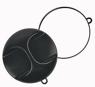 Mirror Round with Handle and Hook