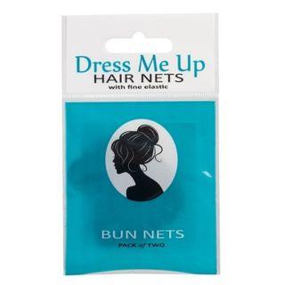DRESS ME UP BUN NET M/BROWN