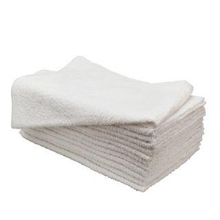 Towels Barber White Bag10 60x30