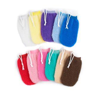 Milano Massage Mitt Asst Colours
