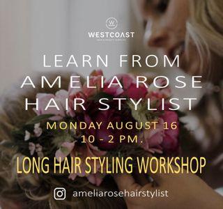 AMELIA ROSE LONG HAIR MONDAY 16TH AUG