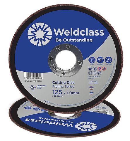 CUTTING DISC PROMAX INOX THIN 125x1.0MM WELDCLASS