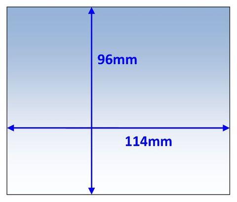 LENS OUTER 114x96MM SUIT WIA BLUE-FX PK5 WELDCLASS