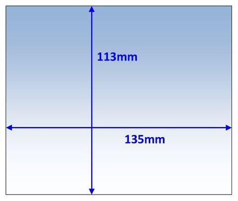 LENS OUTER 135x113MM SUIT WIA VIEW-FX PK10 WELDCLASS