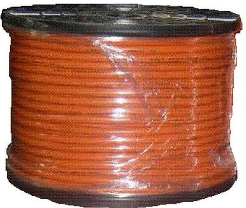 CABLE-WELDING 16MM2 ORANGE -100M ROLL