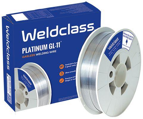 WIRE GASLESS PLATINUM GL-11 0.9MM 4.5KG WELDCLASS