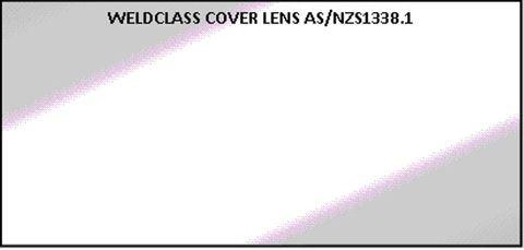 Clear Lenses for Flip-Front Helmets -  Spatter-Resistant (CR39)