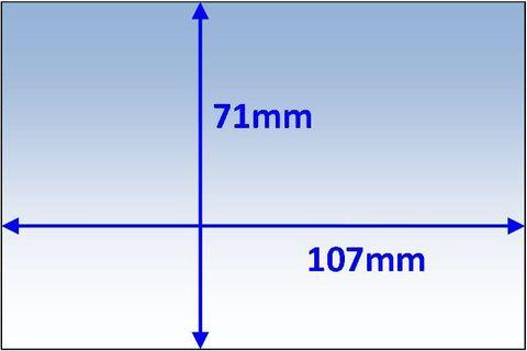 LENS INNER 107x71MM SUIT JACKSON WH70 PK10 WELDCLASS