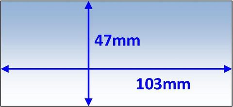 LENS INNER 103x47MM SUIT VARIOUS PK5 WELDCLASS