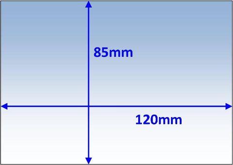 LENS OUTER 120x85MM SUIT SERVORE SV4000 PK10 WELDCLASS