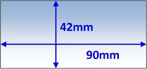 LENS INNER 90x42MM SUIT SPEEDGLAS F/V PK5 WELDCLASS