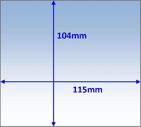 LENS OUTER 115X104MM SUIT PROMAX 180/200/350 WELDCLASS