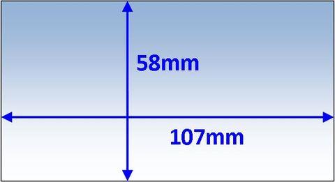 LENS INNER 107x58MM SUIT CIGWELD PROLITE PK5 WELDCLASS