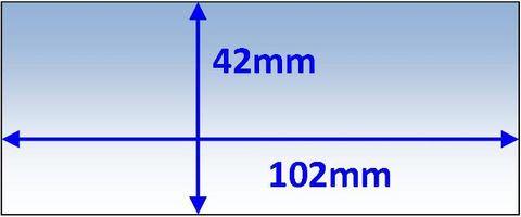 LENS INNER 102X42MM SUIT PROMAX 180/200 PK5 WELDCLASS