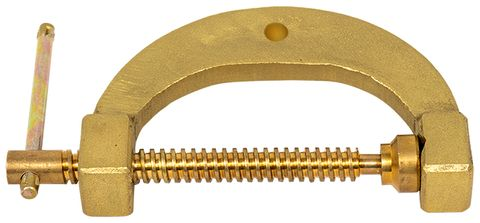Earth Clamps - PLATINUM Brass G-Style