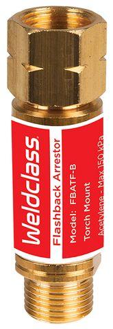 FLASHBACK ARRESTOR FOR TORCH ACET/LPG WELDCLASS