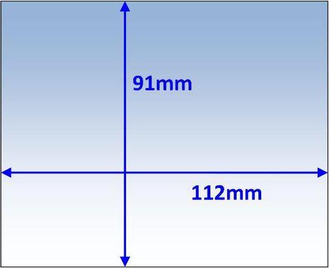 LENS OUTER 112x91MM SUIT LINCOLN PK10 WELDCLASS