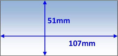 LENS INNER 107x51MM SUIT VARIOUS PK5 WELDCLASS