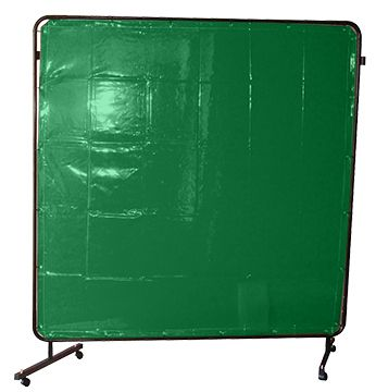 FRAME + CURTAIN KIT 1.8x1.8M STD GREEN WELDCLASS
