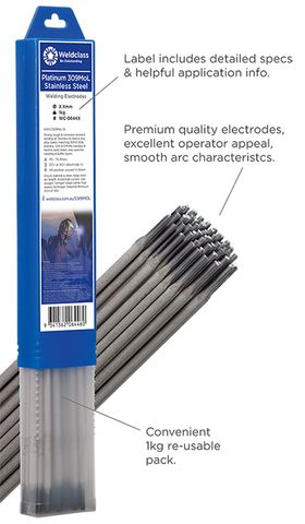 Electrodes - Stainless-Steel PLATINUM 309MoL