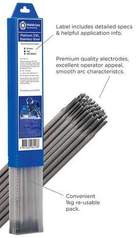 Electrodes - Stainless-Steel PLATINUM 316L