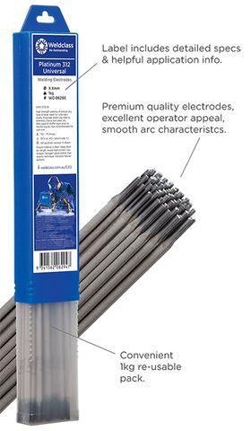 Electrodes - Universal PLATINUM 312
