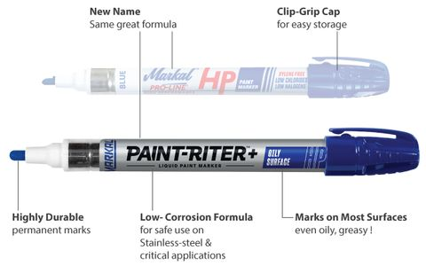Paint Pens - Markal Paint-Riter+ (formerly Pro-Line HP)