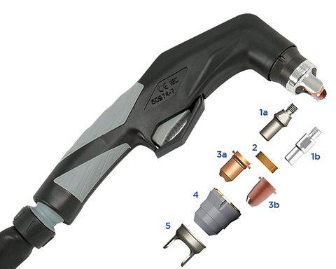 Plasma Torch & Parts - Weldclass XTP40/60