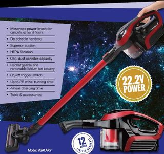Cleanstar GALAXY Stick Vacuum  22.2 V