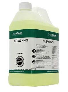 Bleach Based Cleaners