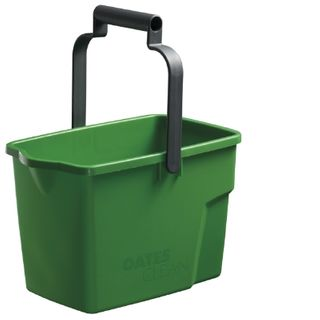 Rectangle Bucket Oates Green fits trolley