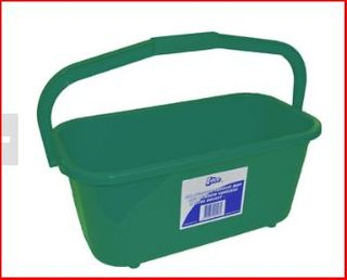 Window rectangle bucket Green 11L 35cm