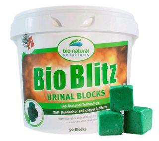 Bio Blitz Urinal Blocks 50