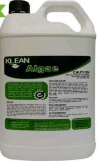 5L Black Mould Algae Moss Remover. Concrete Wash