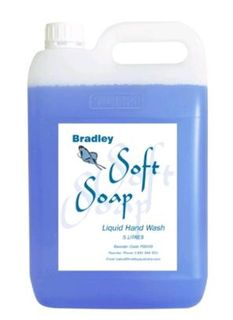 5L  Bradley Soft Soap PB609  RECHARGE