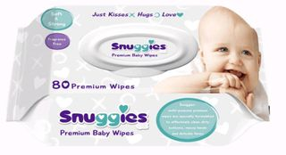 Baby Wipes Squimbles Brand 1x pack of 80