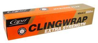 Cling Wrap 45cm x600m  1 Roll