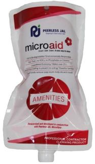 Microaid Amenities Cleaner 1L Pouch