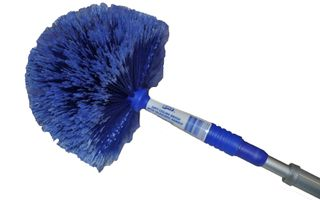 Cobweb Domed Broom w/handle