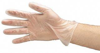 Powder free gloves Vinyl Gloves Med Box 100